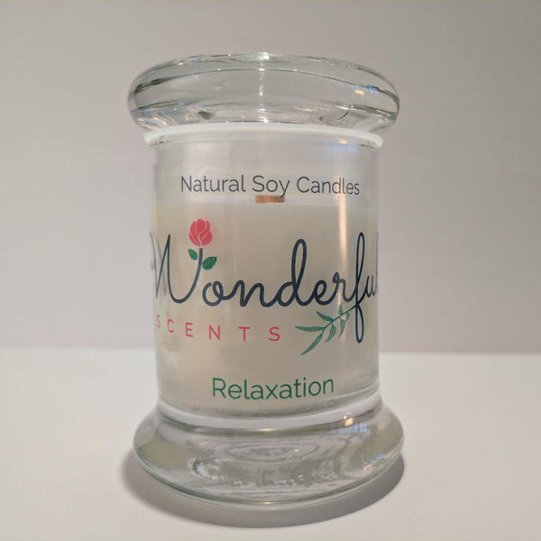 Soy Wax 2.75 oz Status Jar Scented Relaxation