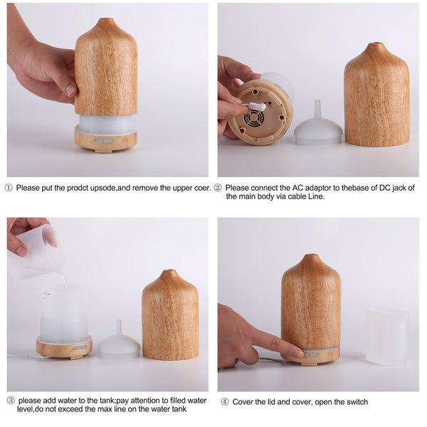 Wonderful_Scents_100_ml_Wood_Essential_Oil_Diffuser_Operating_Method