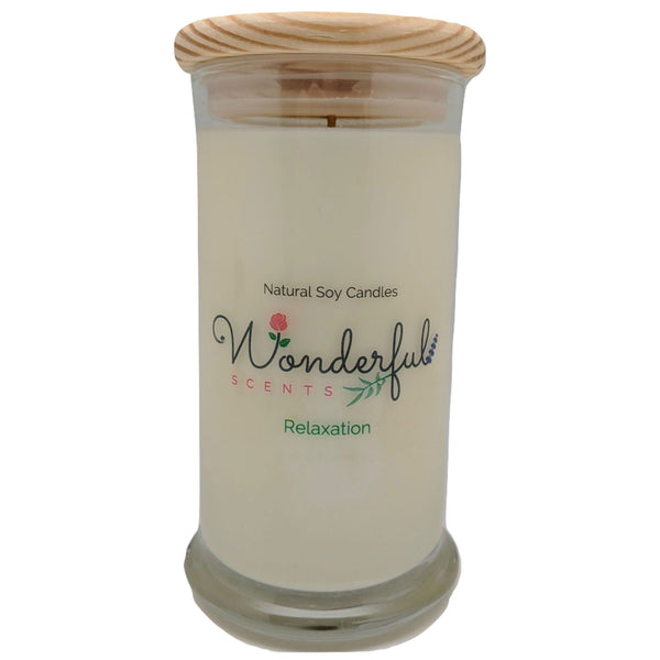 Wonderful Scents 21oz  Relaxation with Cotton Wick