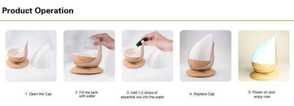Wonderful_Scents_350_ML_Water_Drop_Essential_Oil_Diffuser_Operation