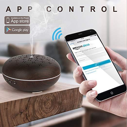 Wonderful Scents Smart Home Aroma Diffuser Alexa App