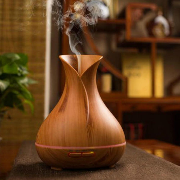 Wonderful Scents 400 ml Essential Oil Light Wood Diffuser Diffusing
