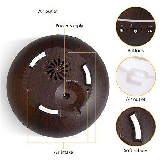 Wonderful Scents Smart Home Aroma Diffuser Components