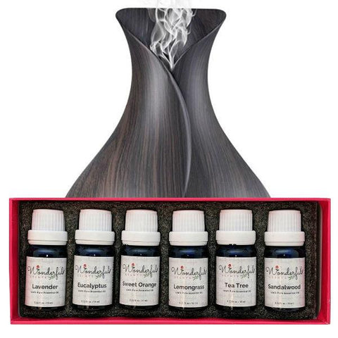 Essential Oil and Diffuser Gift Set