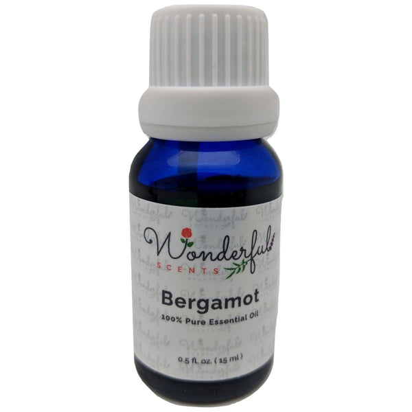 Wonderful Scents Bergamot Essential Oil 15 ml Bottle