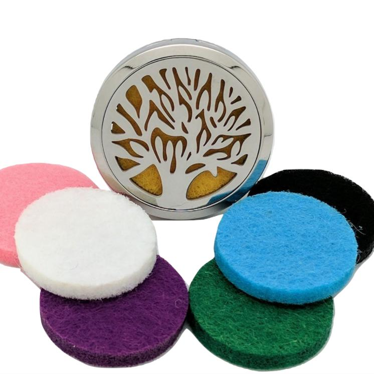 Car Vent Clip Air Freshener Diffuser Free Felt Pads For Essential Oils - Tree of Life #3 / 2 - 5 Day