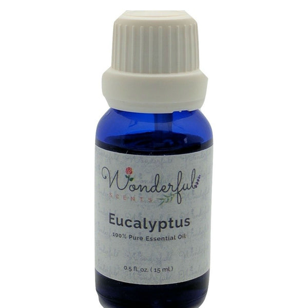 Wonderful Scents Eucalyptus Essential Oil 15 ml Bottle