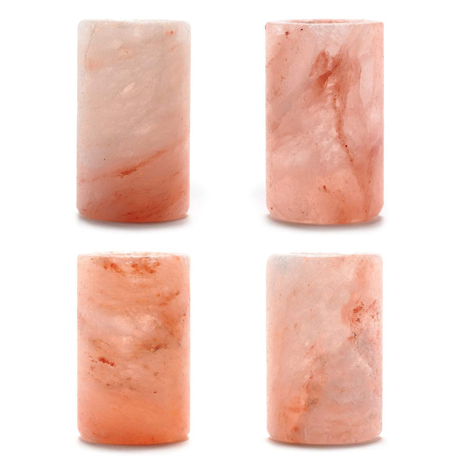 Wonderful Scents Himalayan Salt Shot Glasses 4 Pack