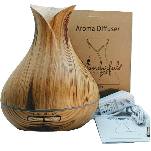 Wonderful Scents Light Wood 400ml Diffuser With Box and Contents