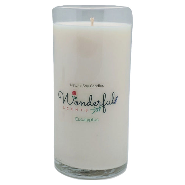 Wonderful Scents Never Ending Soy Candle Eucalyptus
