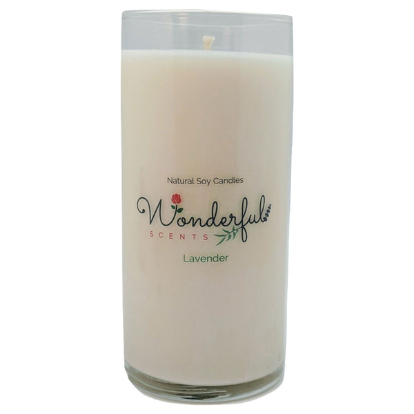 Wonderful Scents Never Ending Soy Candle Lavender