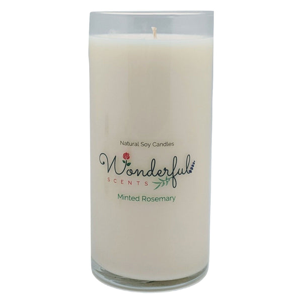 Wonderful Scents Never Ending Soy Candle Minted Rosemary