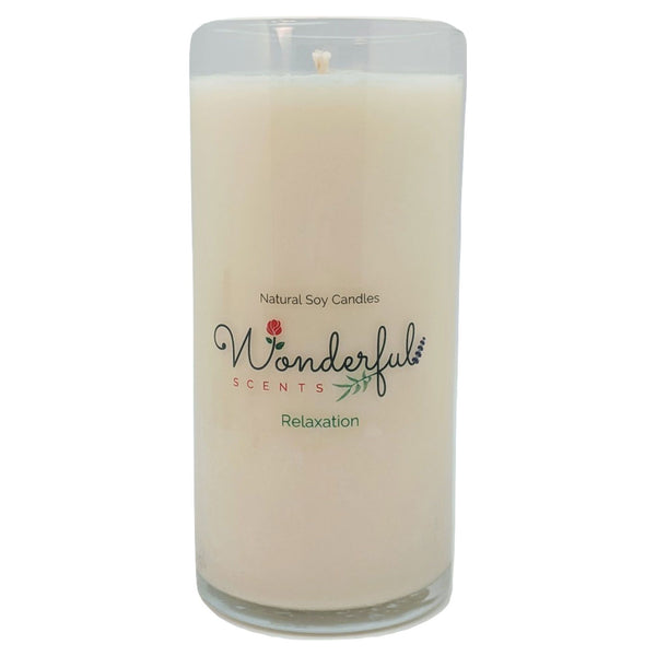 Wonderful Scents Never Ending Soy Candle Relaxation