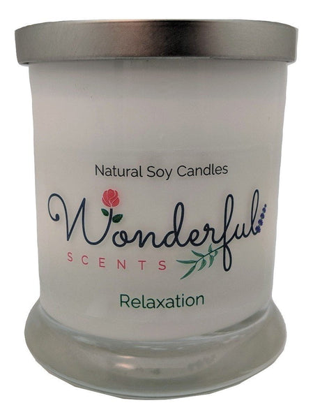 Wonderful Scents Opaque Status Jar Soy Candle Relaxation Scented.jpg
