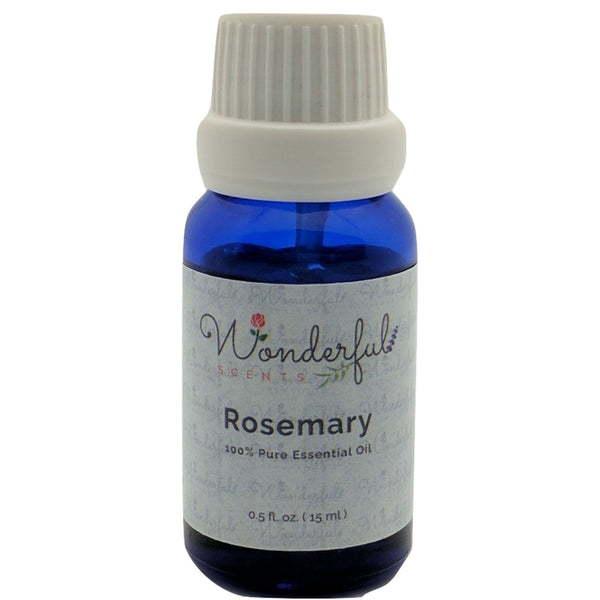 Wonderful Scents Rosemary Essential Oil 15 ml Bottle