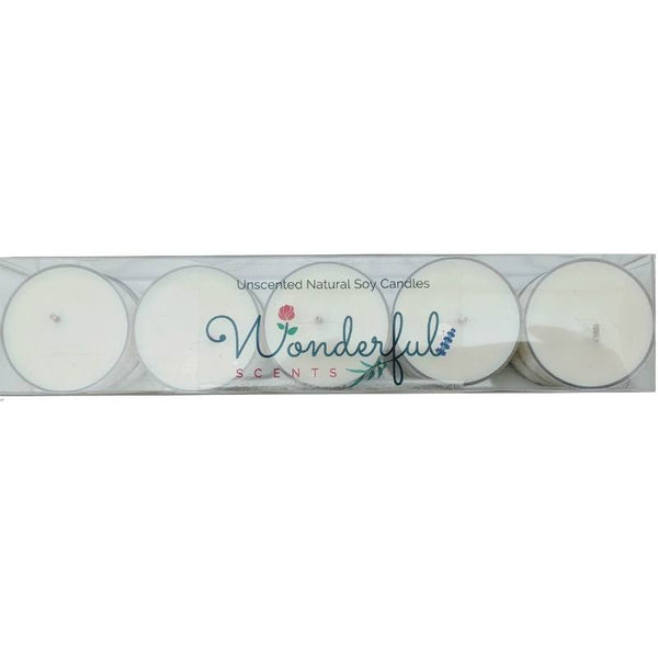 Wonderful Scents Soy Tea Light Candle 10 Pack
