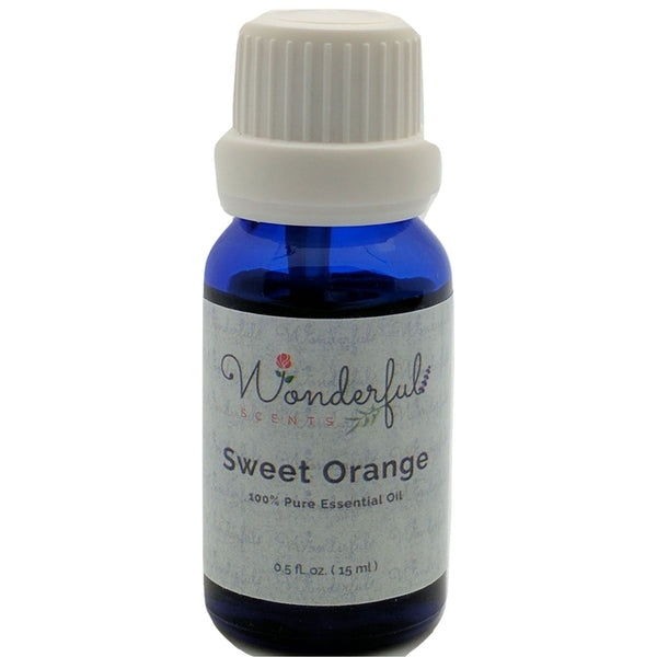 Wonderful Scents Sweet Orange Essential Oil 15 ml Bottle