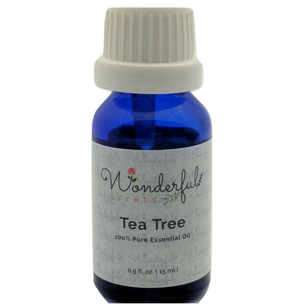 Wonderful Scents Tea Tree Essential Oil 15 ml Bottle