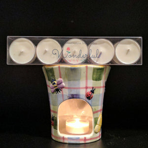 Wonderful Scents Unscented Soy Wax Tealight Candles