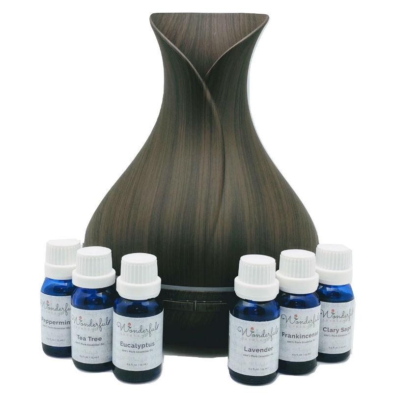 f Wonderful_Scents_Dark_Wood_Vase_Diffuser_Essential_Oil_Combo_Gift_Set