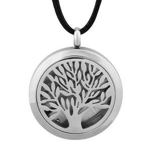Tree of Live Stainless Steel Essential Oil Locket Diffuser - 25mm