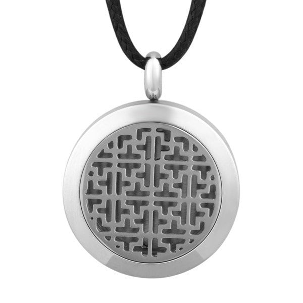 Stainless Steel Essential Oil Locket Diffuser - 25mm