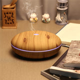Table Top Diffusing 350 ml Essential Oil Diffuser With Cool Mist & Color LED Light Wood