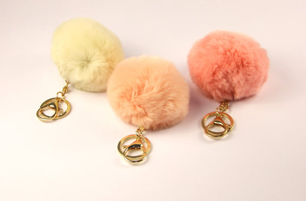 Fluffy Key Ring