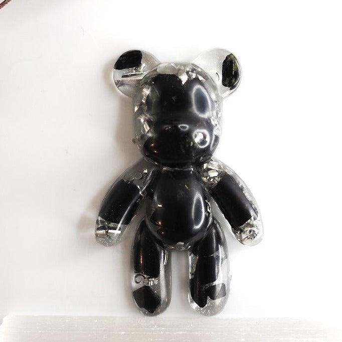 Teddy Shape Orgonite | Black Tourmaline | Base Chakra