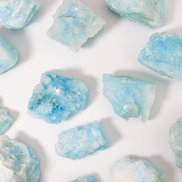 Aragonite Blue Raw