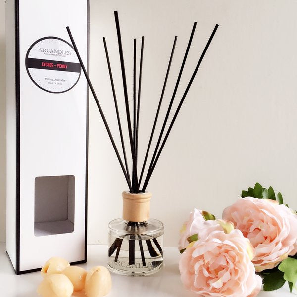 Lychee + Peony Reed Diffuser