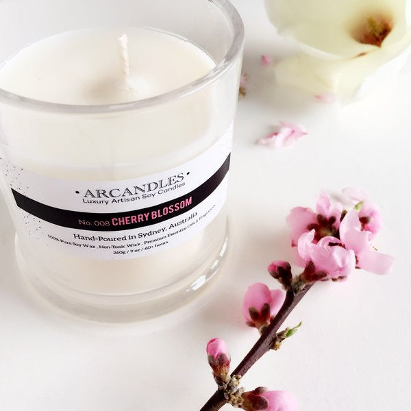 008 Cherry Blossom Candle Mini
