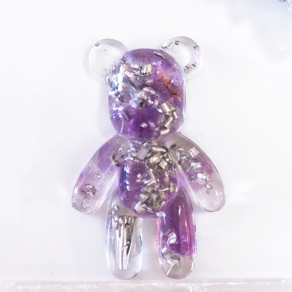 Teddy Bear Orgonite | Amethyst | Third Eye Chakra