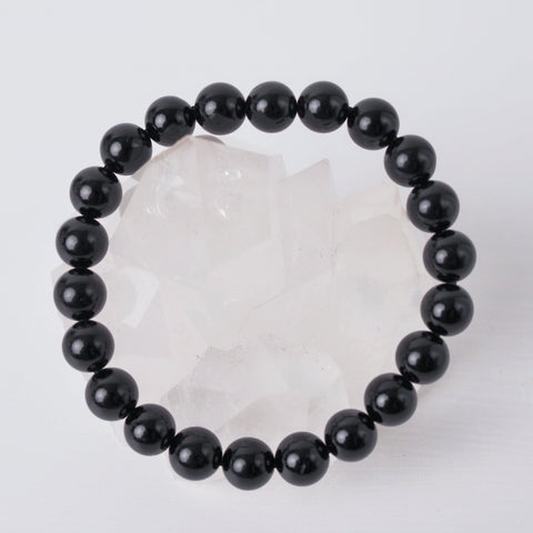 Black Tourmaline Bracelet 8mm