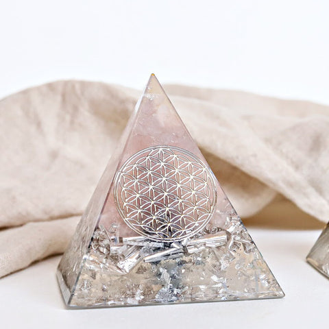 Custom Made Orgonite - Classic Pyramid