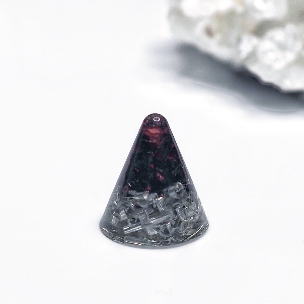 Mini Orgonite | Garnet | Base Chakra