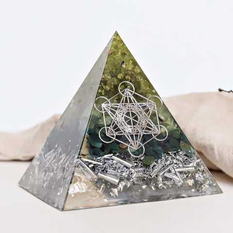 Custom Made Orgonite - Large Pyramid