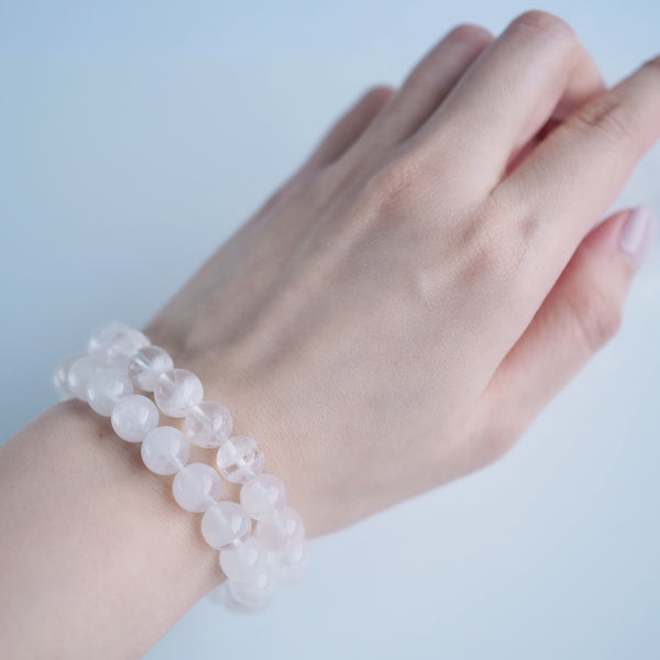 White Phantom Quartz Bracelet