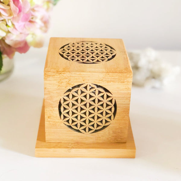 Sacred Geometry Smudge Box Kit - Flower of Life