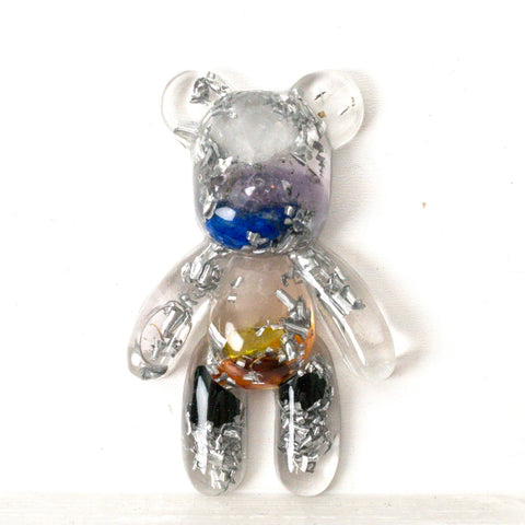 Teddy Bear Shape Orgonite | 7 Chakras