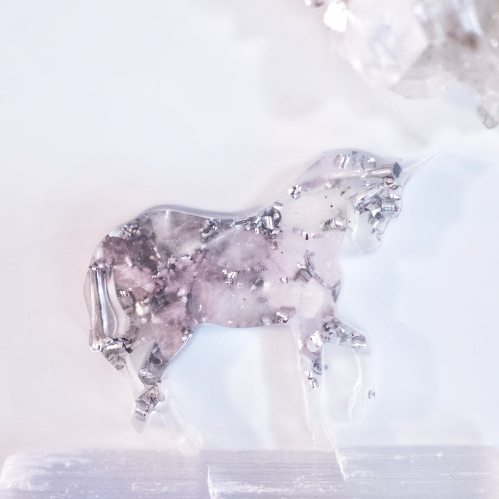 Unicorn Orgonite | Rose Quartz | Heart Chakra
