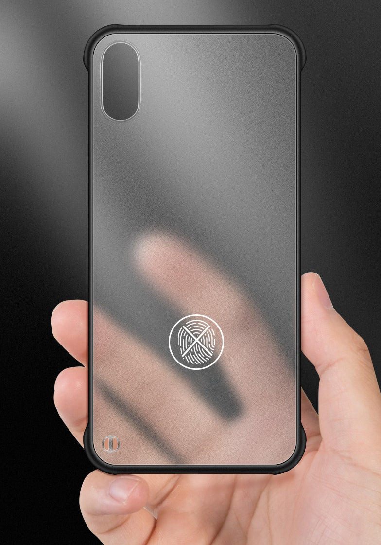 No Frame Matte Phone Case with Thickened Conner Protection, Semi-transparent Design, Lens Protector, Super Slim and No Fingerprint, For iPhone X/XS/XSMAX/XR/11/11PRO