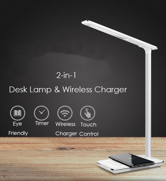 Dimmable & Foldable Wireless Charger Lamp That Caters to your Every Need
