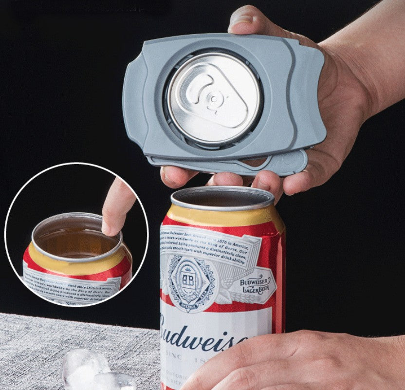 Safe Can Opener with No Sharp Edges, for Household, Kitchen & Bar