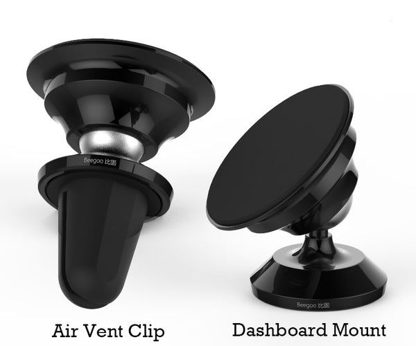 360° Rotatable Nano Suction Car Phone Mount That Sticks to Your Phone without Being Sticky