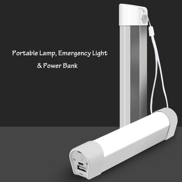 Keep Adventuring with 2-in-1 Rechargeable Lamp & Power Bank