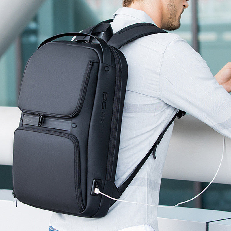 Laptop Backpack, with USB Charging Port & Water Resistant, Fits 14-Inch Laptop and Notebook, for Everyday Use