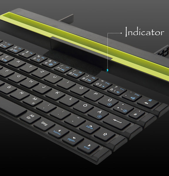 Type on the Go with Ultra Thin Universal Foldable Bluetooth Keyboard
