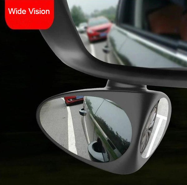 Double-sided Blind Spot Mirrors, with Adjustable Design, Wide Angle, Rear and Front View, for Sedan, SUV & More