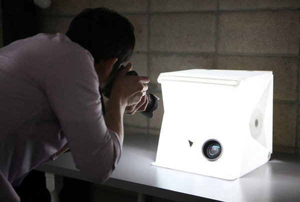 The Most Affordable Portable & Foldable LED Lightbox Studio